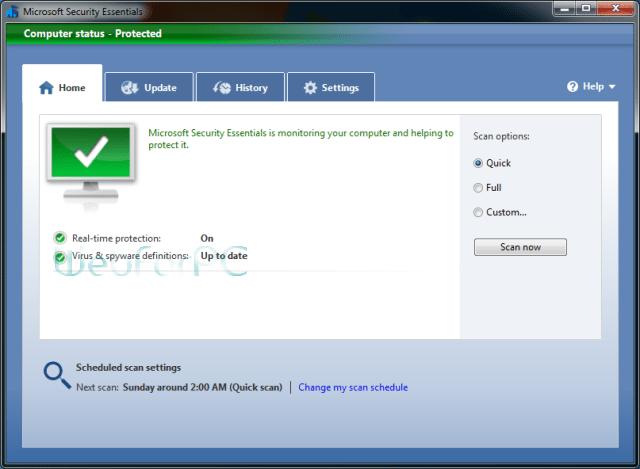 Microsoft Security Essentials 32 Bit 64 Bit