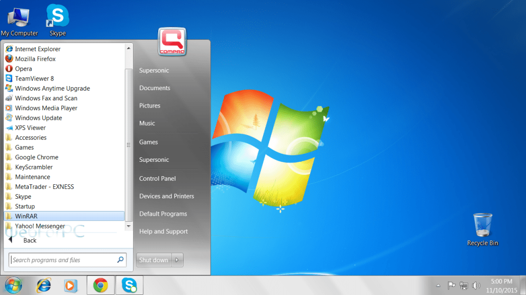 Windows 7 Professional Free Download