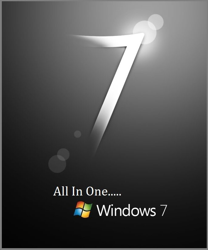 Windows 7 all in one logo