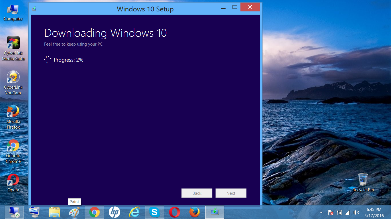 windows 10 welcome