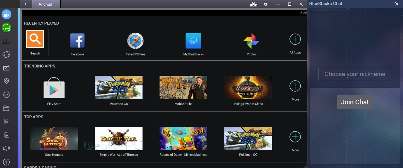 Bluestacks 2 Rooted Version Free Download - Web For PC