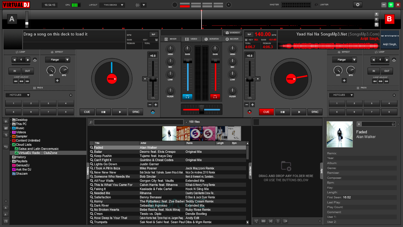 virtual dj 8 screenshot (2)