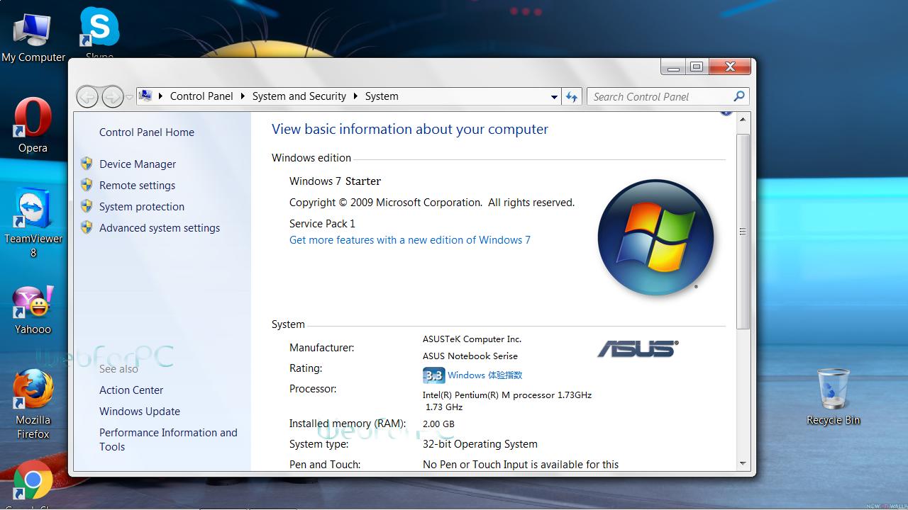 Telecharger Windows  Home Premium Asus