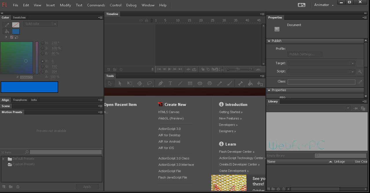 Adobe Flash Pro CC 2015 Free