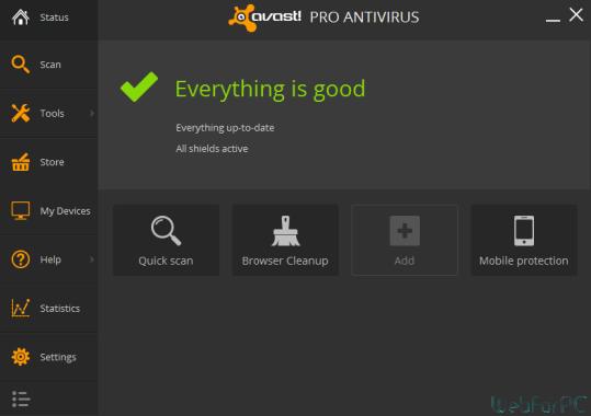 Avast Pro Antivirus 2015 Free Download PC