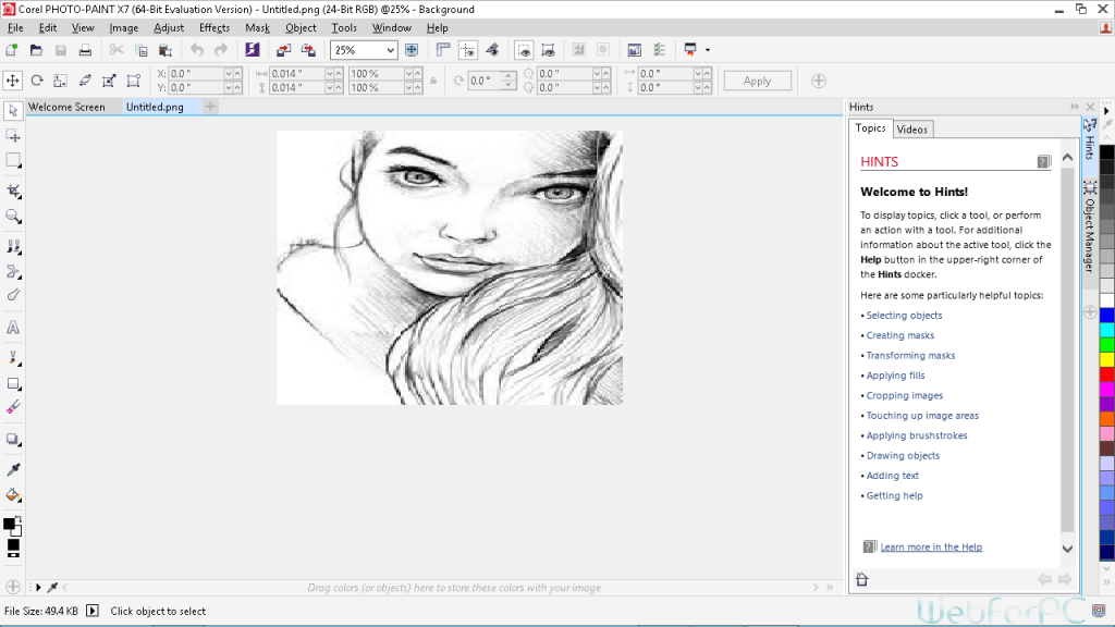 CorelDraw Graphics Suite X7 Free