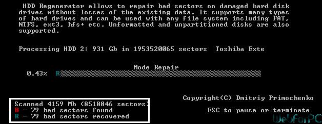 HDD Regenerator Free Download