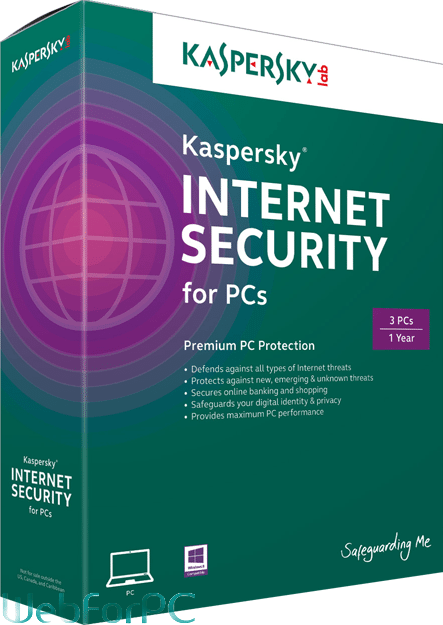 Kaspersky Internet Security 2016 Free Download Setup - WebForPC
