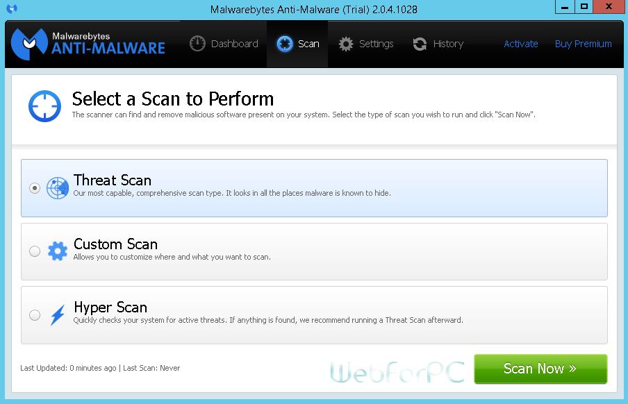 Malwarebytes Anti-Malware Premium Setup