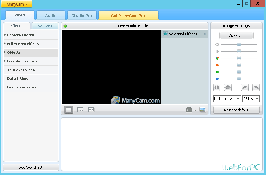 ManyCam Pro Free Download Setup 5 0 4 - WebForPC