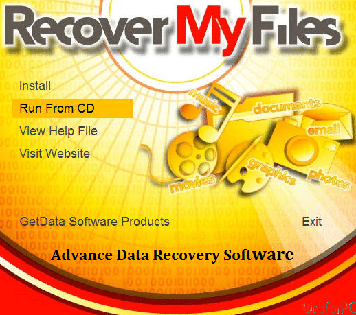 recover my files software free download
