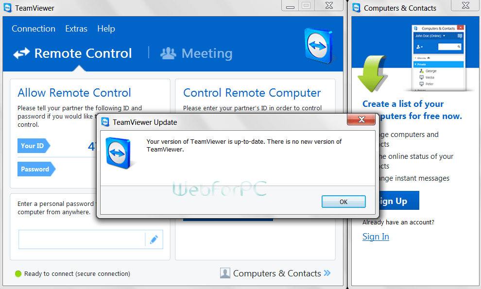 TeamViewer 10 Free Download Setup