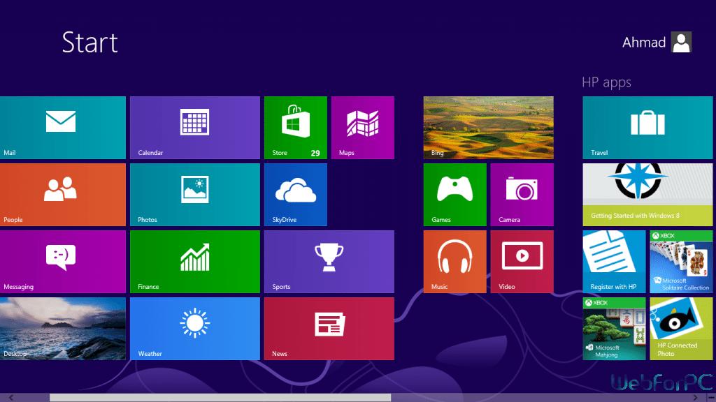 Windows 8 Free Download 32 Bit - 64 Bit ISO