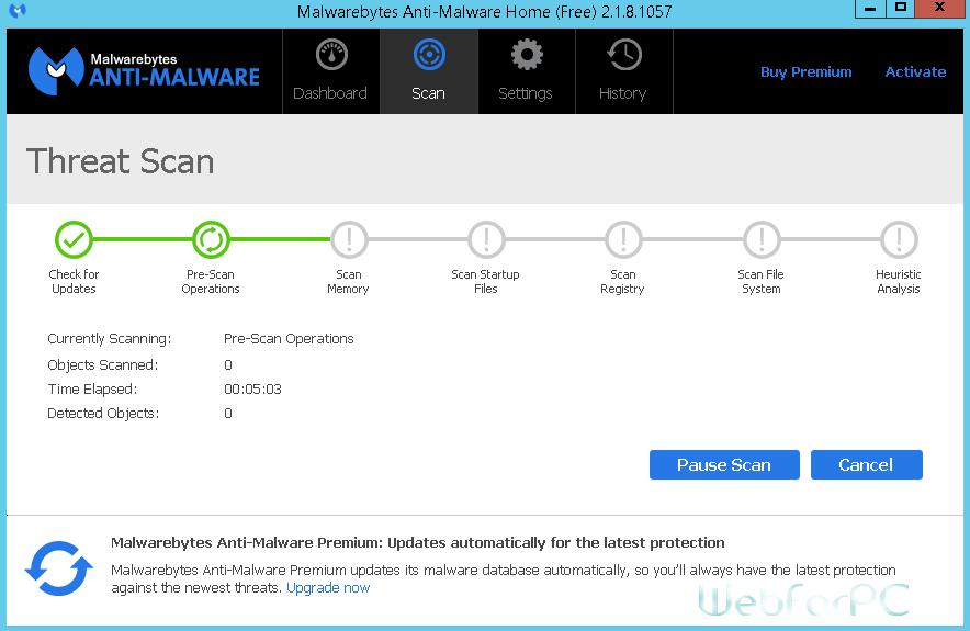 Malwarebytes Anti-Malware Premium Free Download Setup - WebForPC