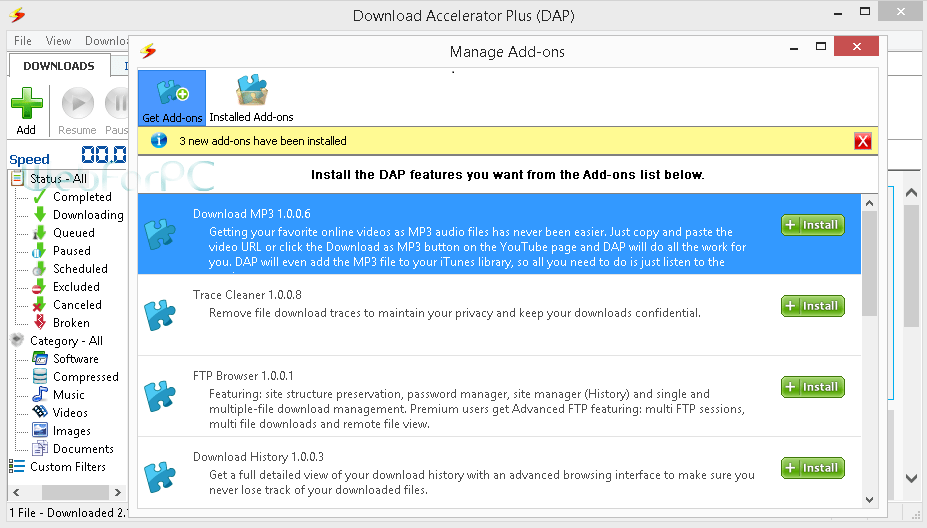 Download Accelerator Plus Download