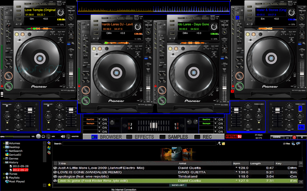 virtual dj setup exe