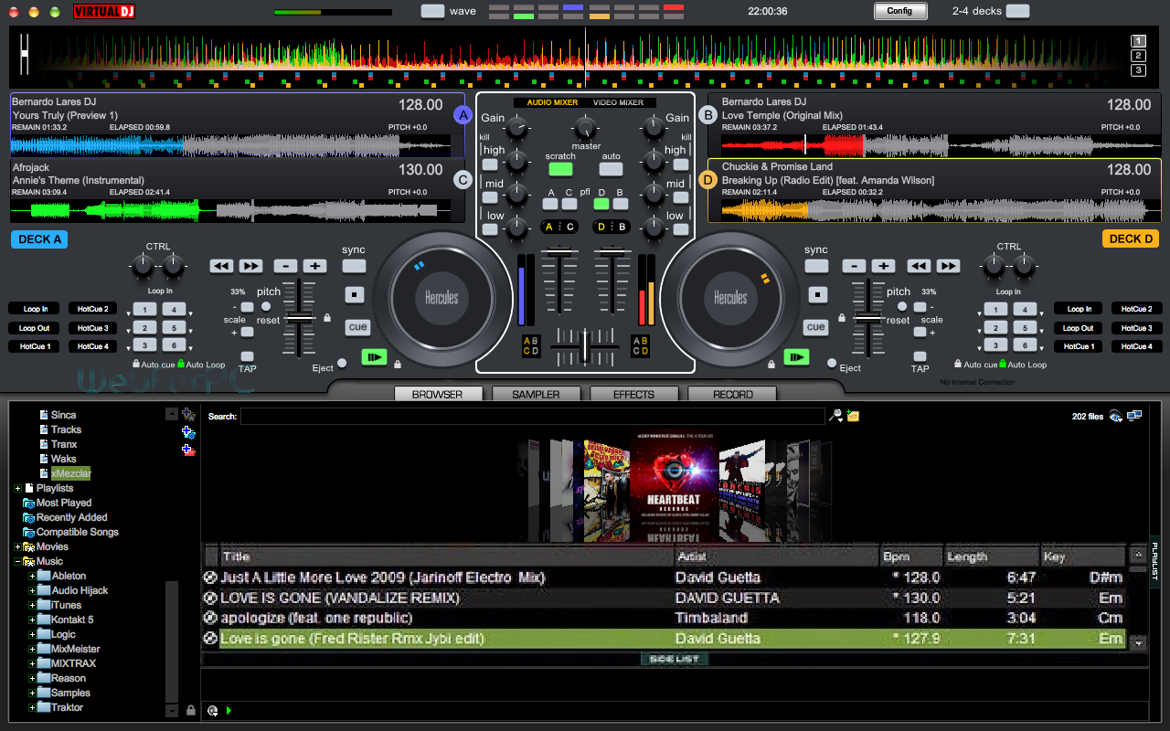 virtual dj telechargementz