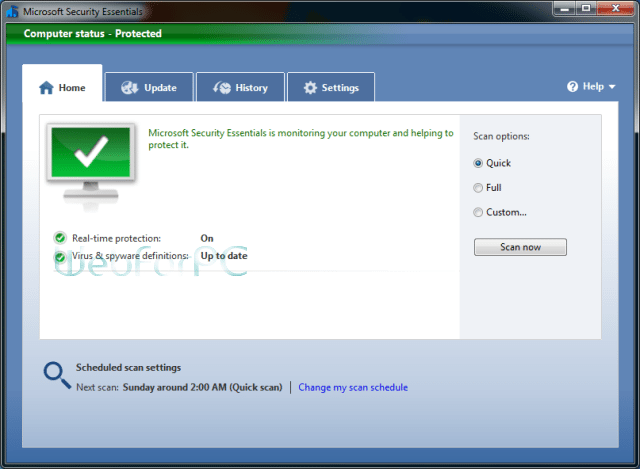Microsoft Security Essentials 32 Bit 64 Bit