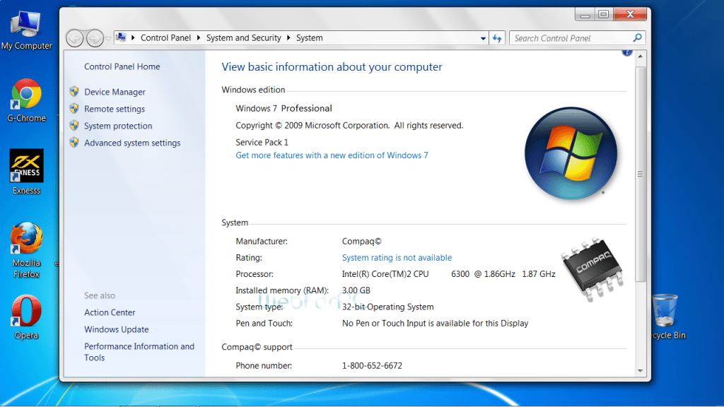 Windows 7 Professional Free