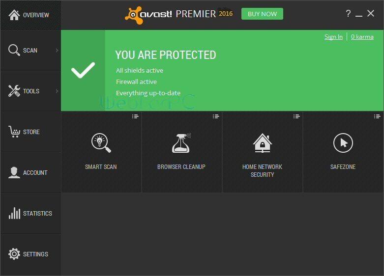 Avast Premier Antivirus 2016 Setup