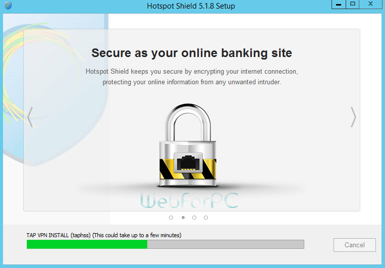 Hotspot Shield Latest VPN Setup Free Download - WebForPC