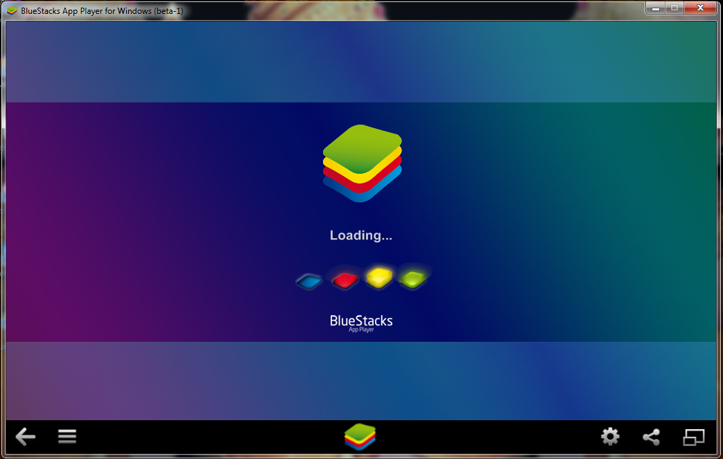 bluestacks Main Screen