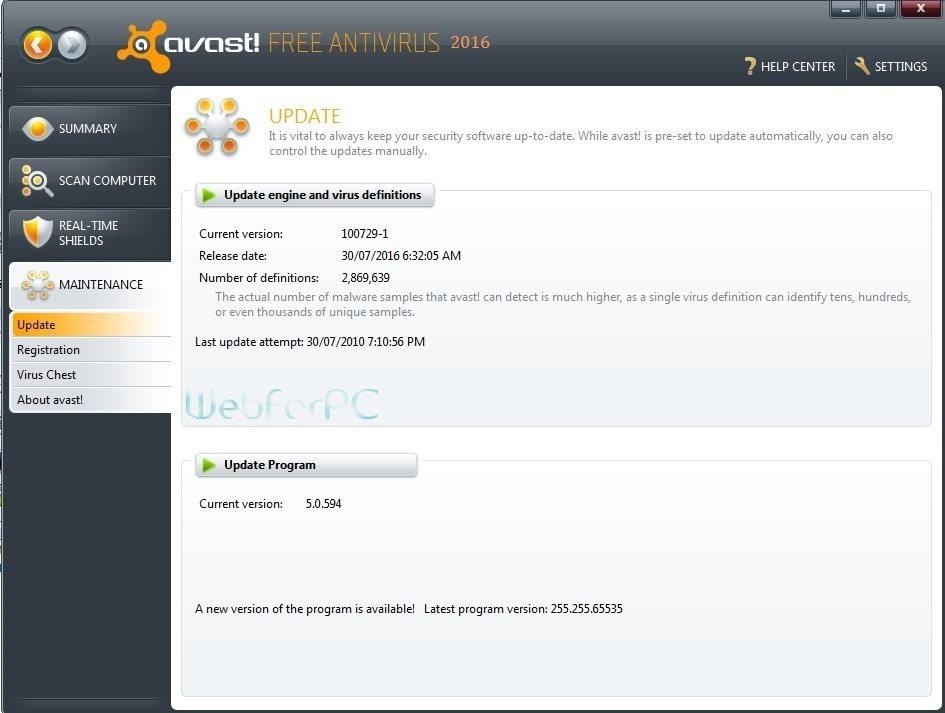Avast Free Antivirus 11.1.2253 Latest Setup Download