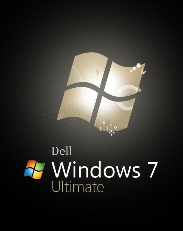 Dell Windows 7 Ultimate logo