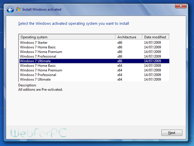 windows 7 ultimate sp2 64 bit iso