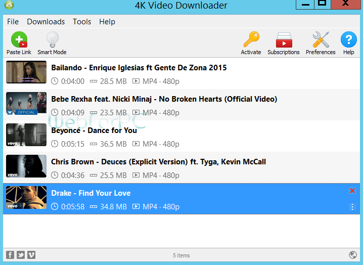 4K Video Downloader Free