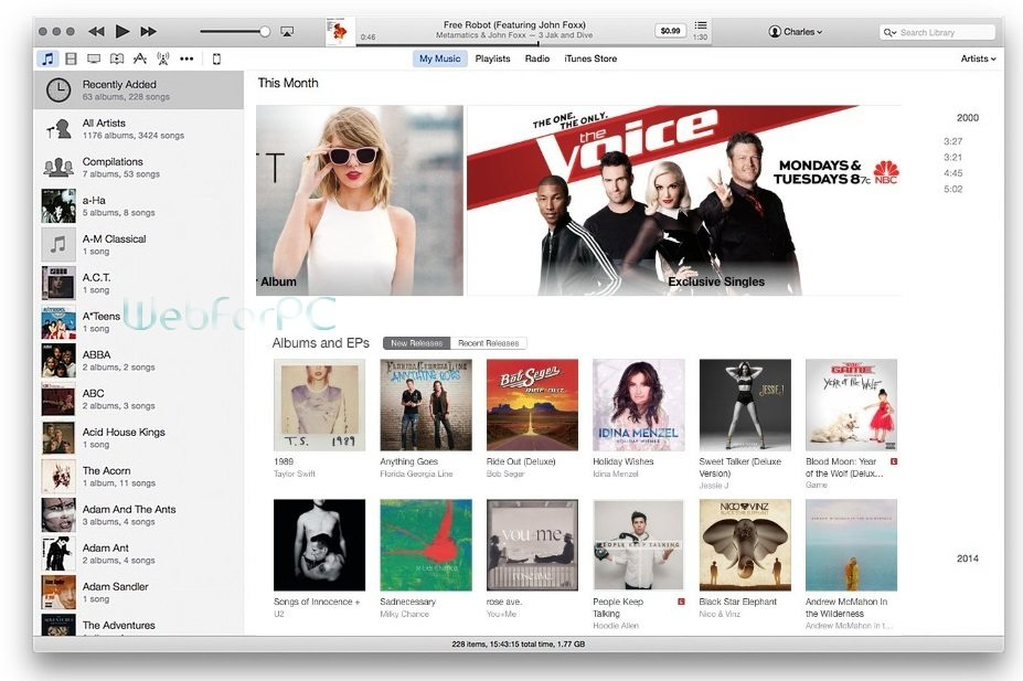 iTunes 12.3.3 Latest Version