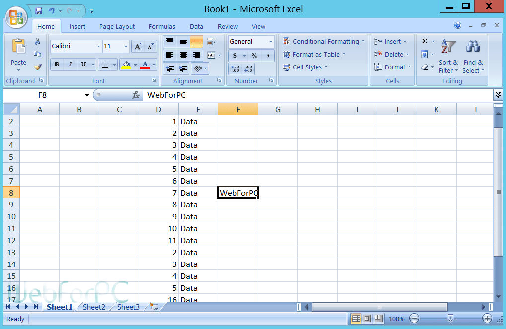 install microsoft office excel 2007 free download