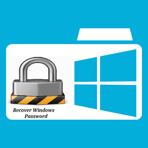 Windows password recovery