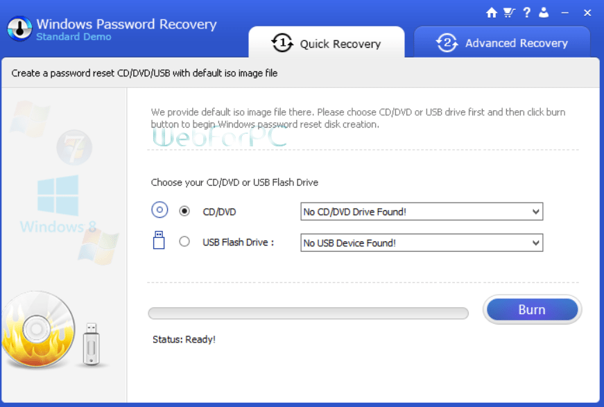 windows password recover