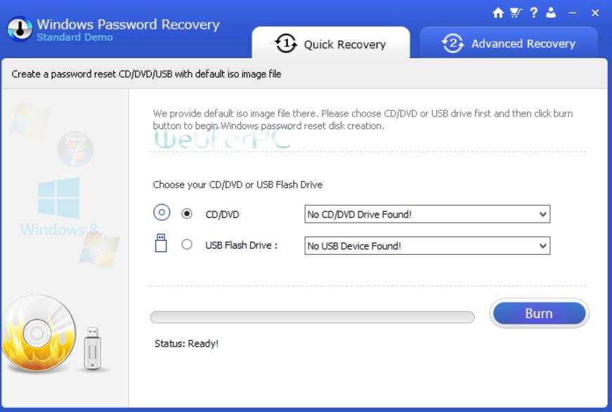 windows password recover