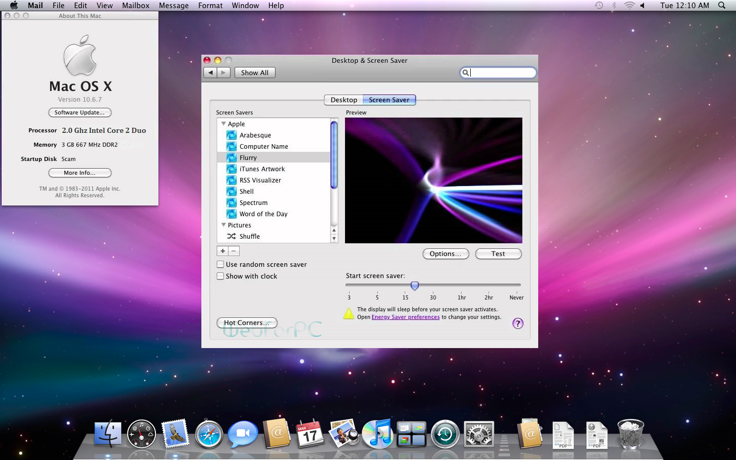 mac os snow x leopard
