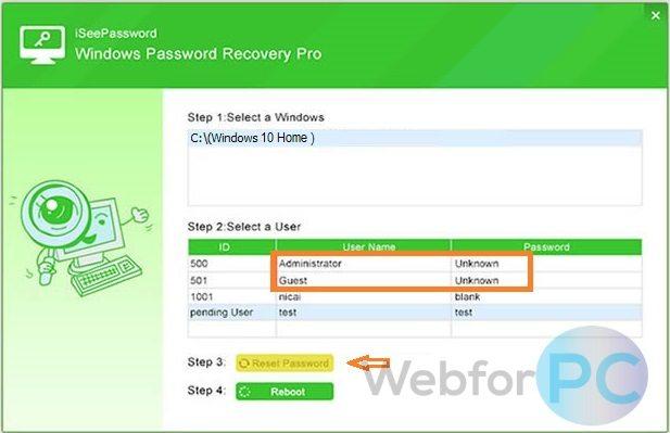 Iseepassword review | iSeePassword Windows Password Recovery Pro