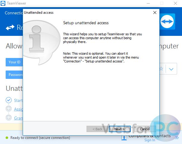 TeamViewer 13 Free Download For Windows & Mac - WebForPC