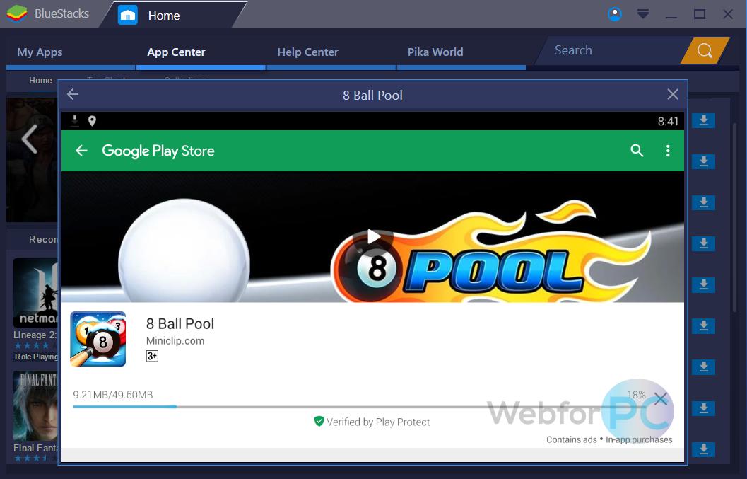 BlueStacks App Player Version 3 52 Free Download Setup - WebForPC