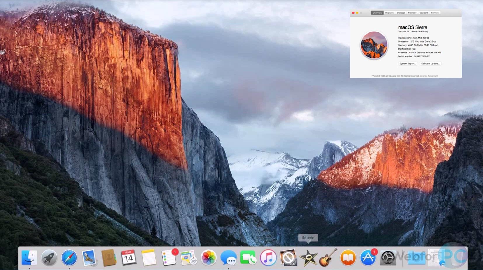 MacOS High Sierra 10 13 Disk Image Free Download - WebForPC