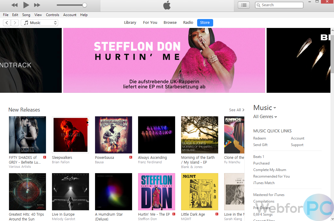 iTunes 12 7 3 - Download For Windows & Mac - WebForPC