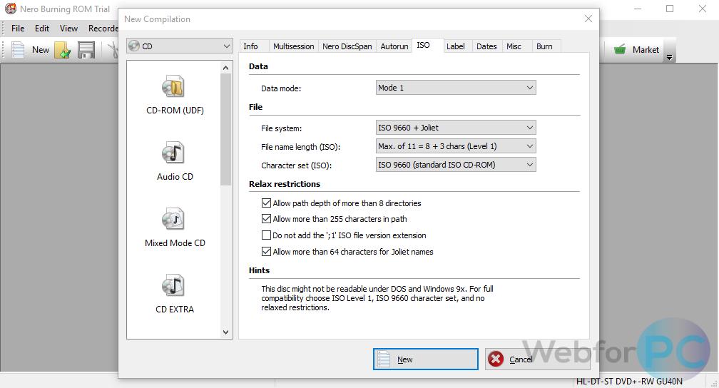 nero mp3 burner free download full version