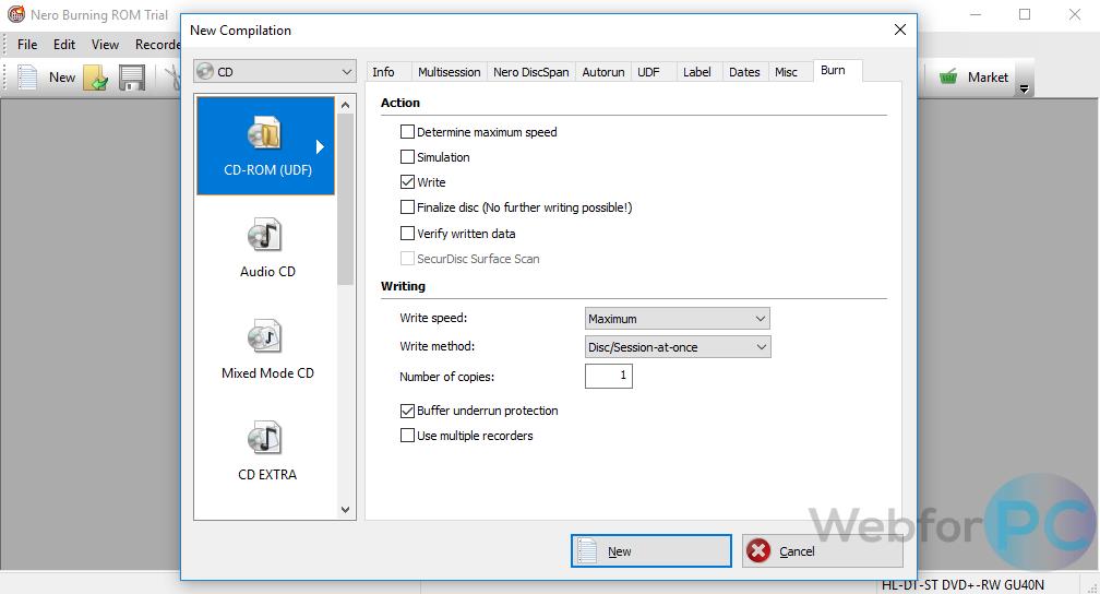 free download nero cd burner for windows 10