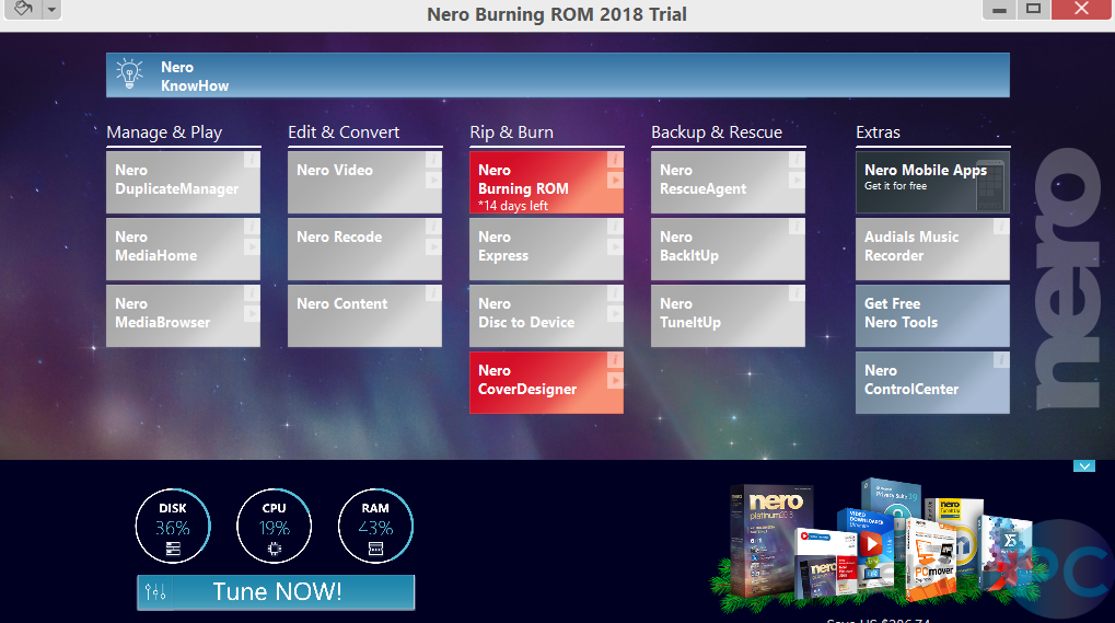 nero burning rom 2018 free download full version