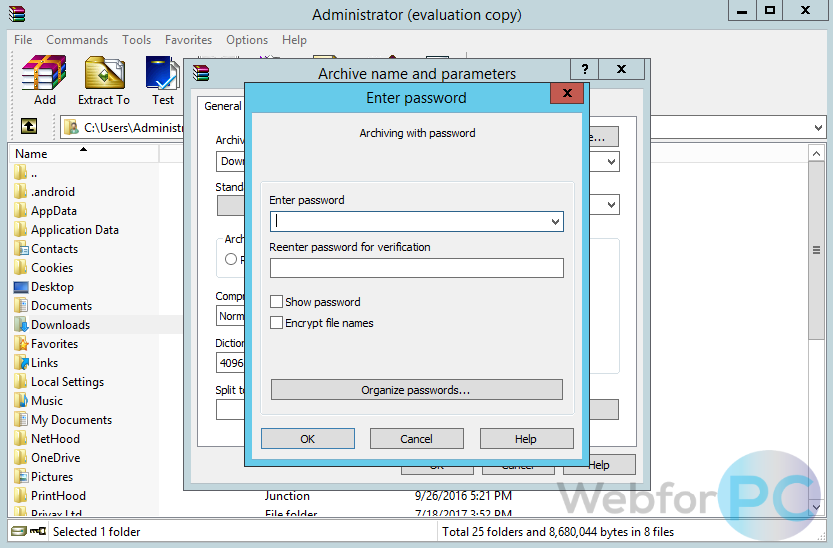 Winrar evaluation copy скачать | Keys: Winrar serial key  2019-04-23