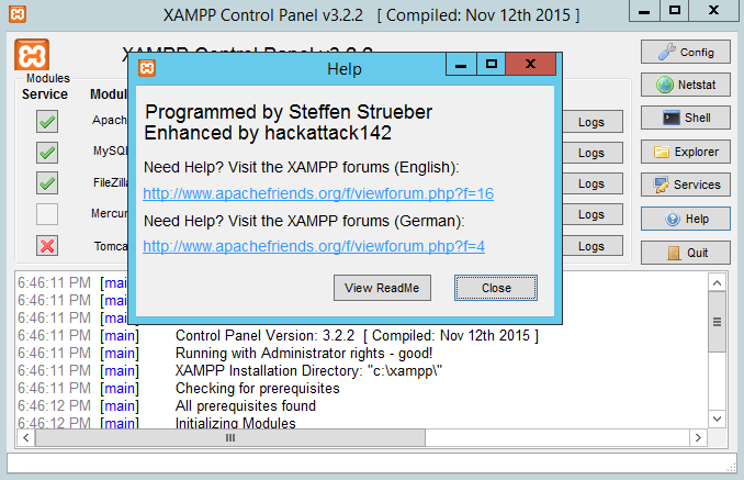 download xampp for windows 64 bits