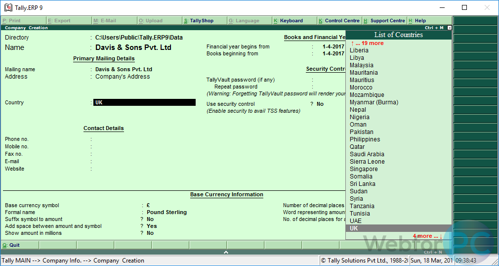 tally software free download for windows 7 32 bit