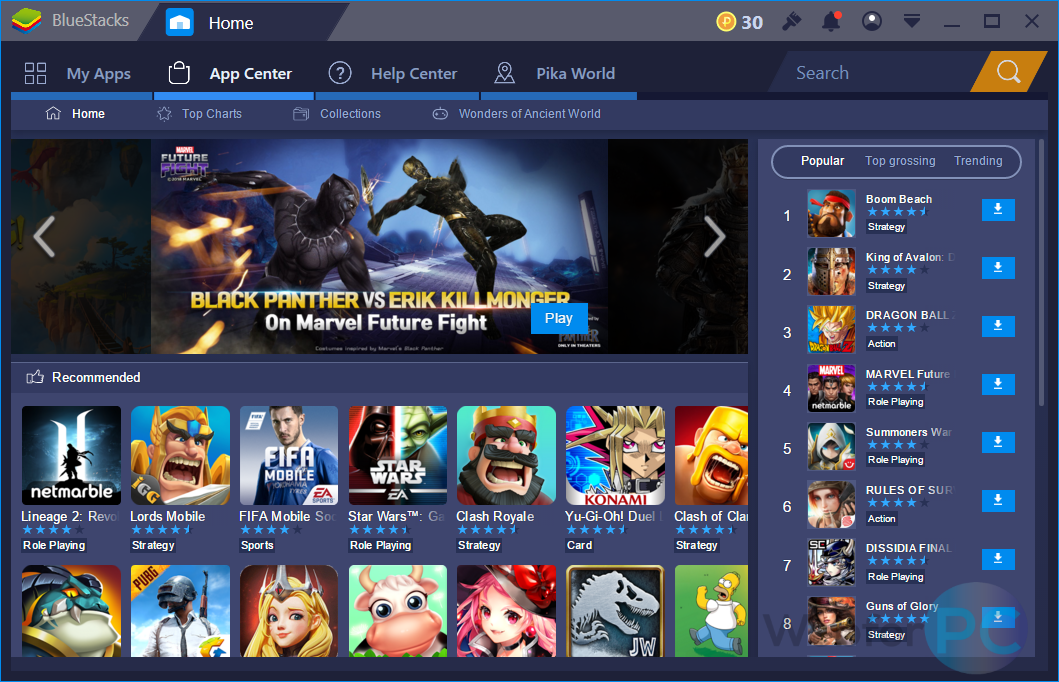 BlueStacks App Player 4 - Download For Windows - WebForPC