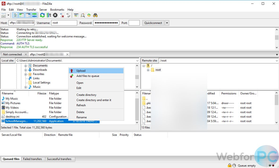 FileZilla FTP Client 3 32 0 - Download For Windows - WebForPC