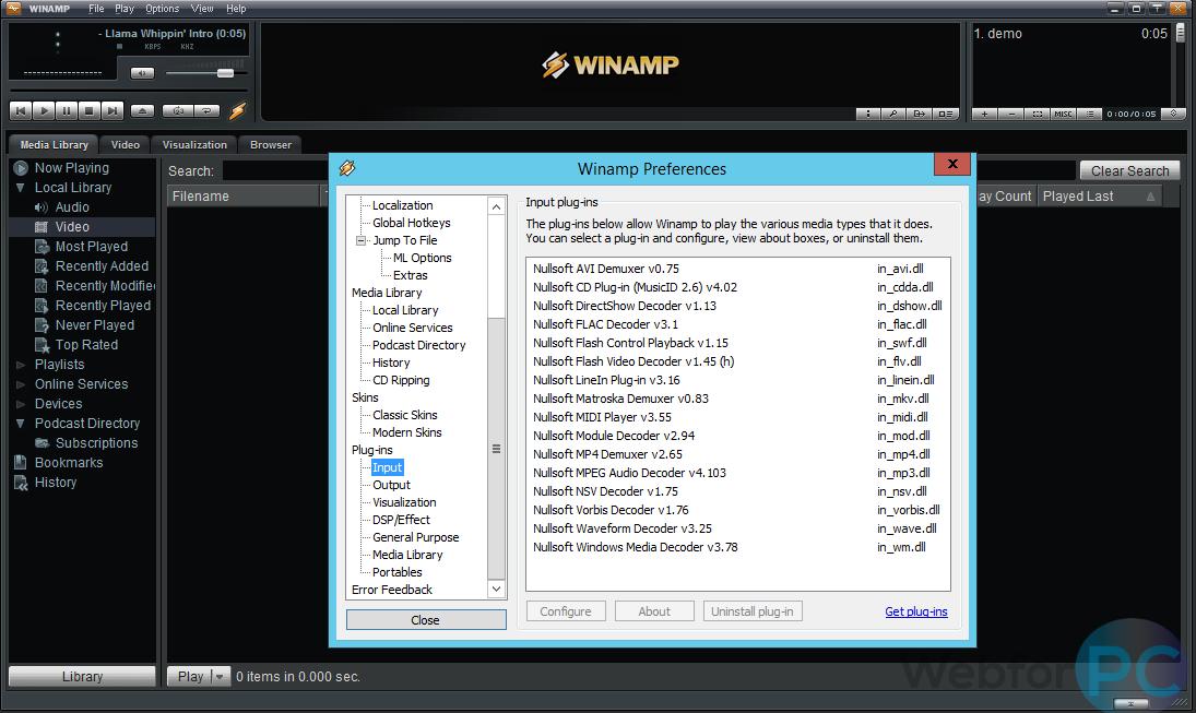 download winamp untuk pc terbaru